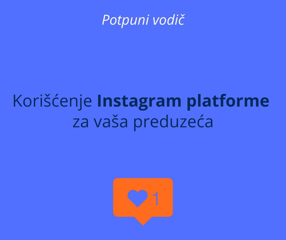 koriscenje instagram platforme