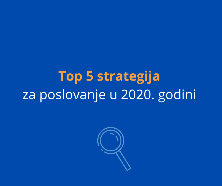 top 5 strategija za poslovanje