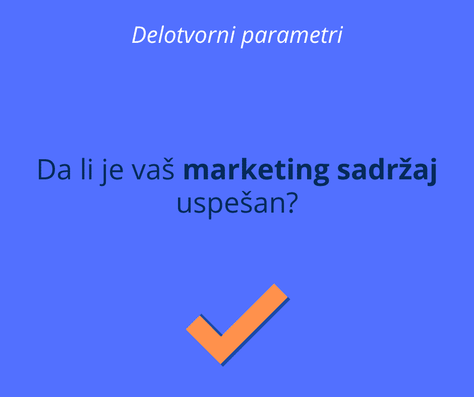 uspešan marketing sadržaj