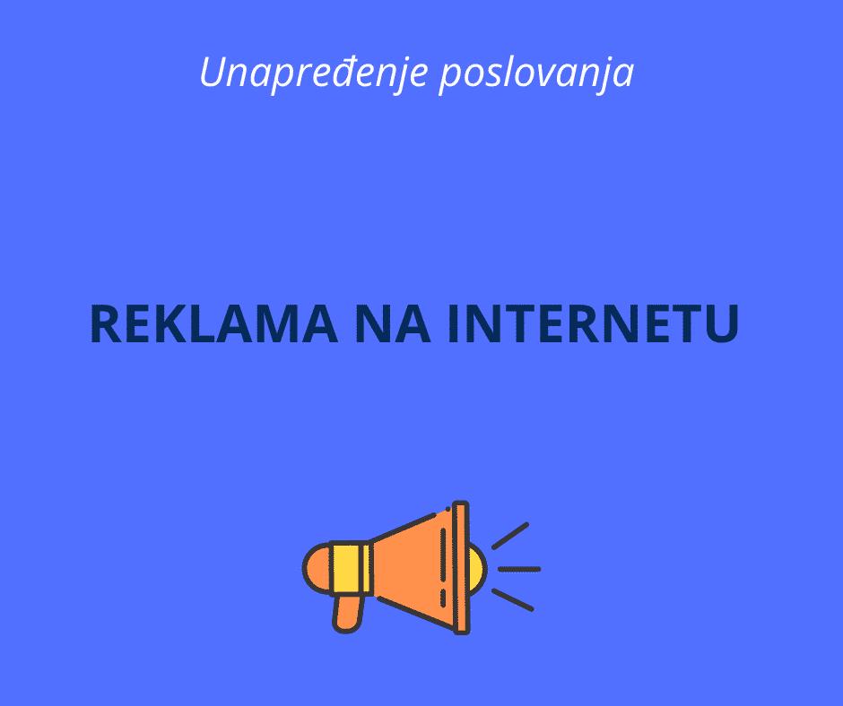 reklama na internetu