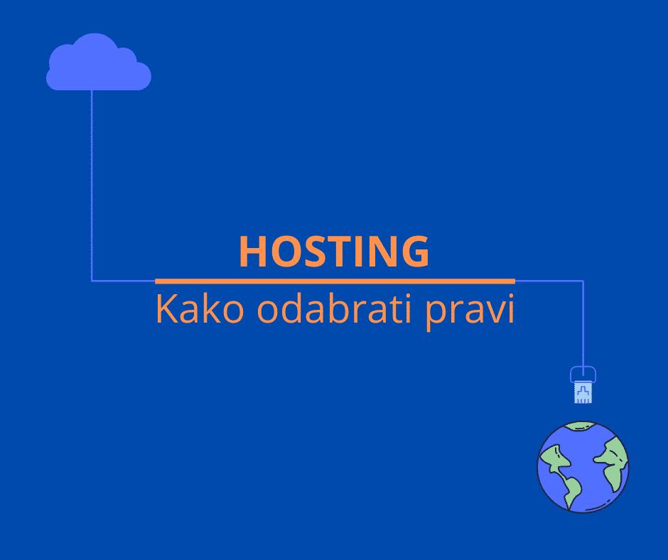 hosting kako odabrati pravi