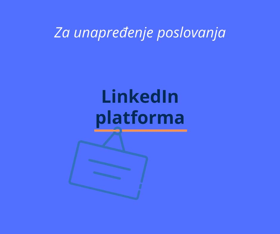 linkedin platforma