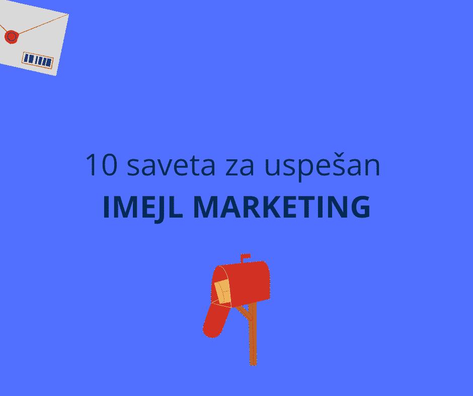 uspešan imejl marketing