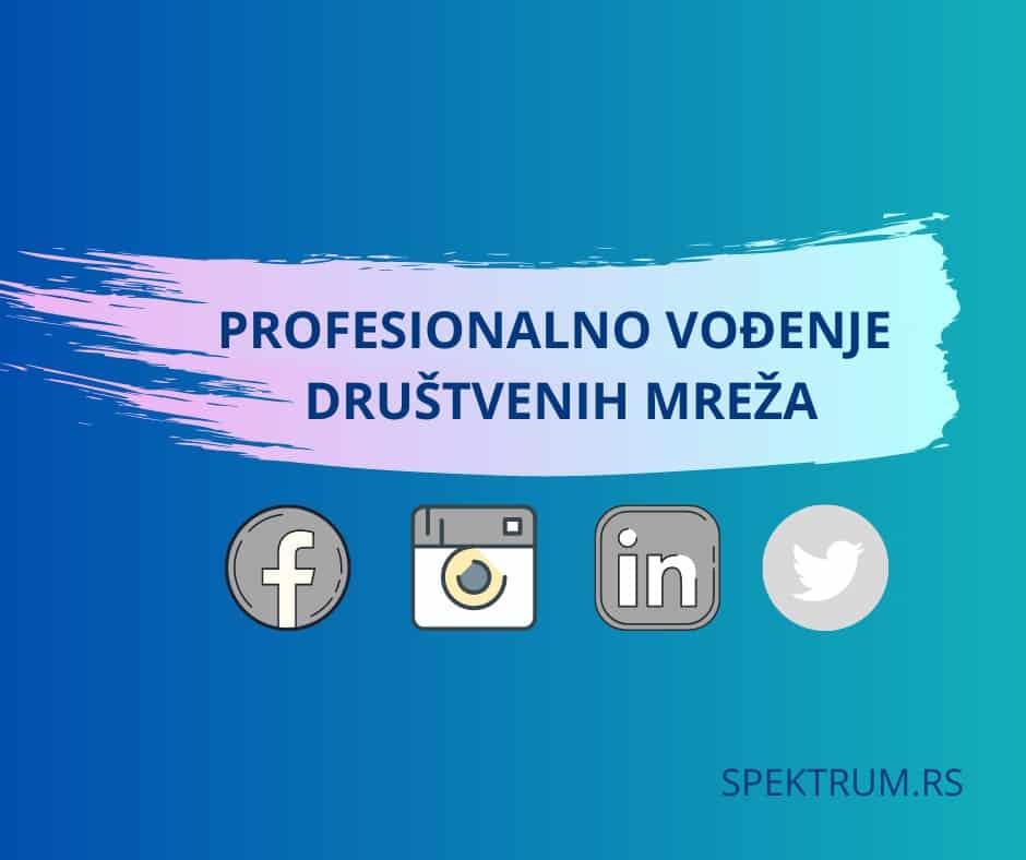 profesionalno vođenje društvenih mreža